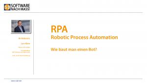 Video RPA Wie baut man einen Bot?